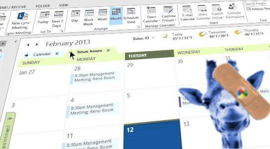 Vermeidung von Frust mit Outlook und Zarafa am Patchday