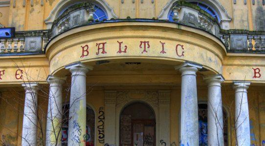 Leider nur von außen: Villa Baltic