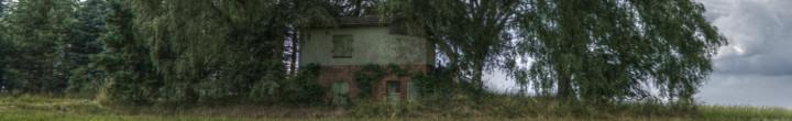 Haus mit Bunker
