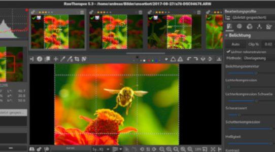 Fotos bearbeiten mit Open Source | RawTherapee