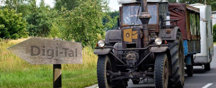 Mit dem Diesel ins Digi-Tal